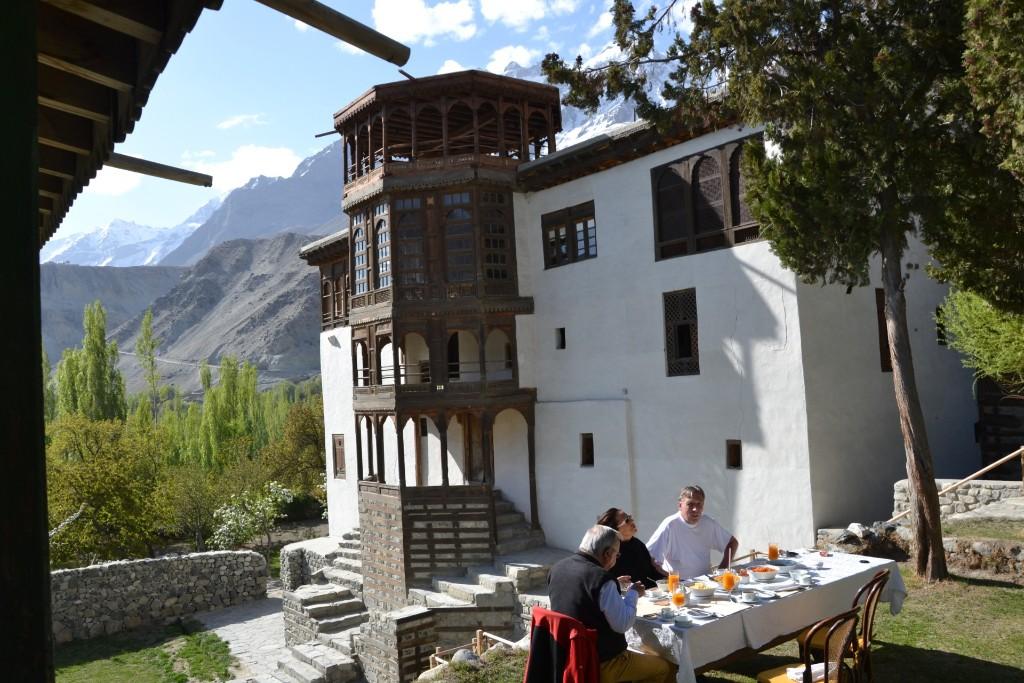 Khaplu Fort Ghanche Baltistan