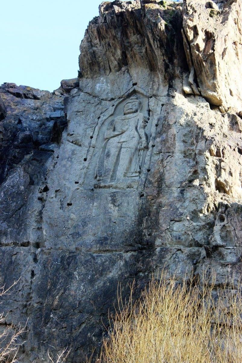 Karga Buddha Gilgit history of Gilgit Baltistan