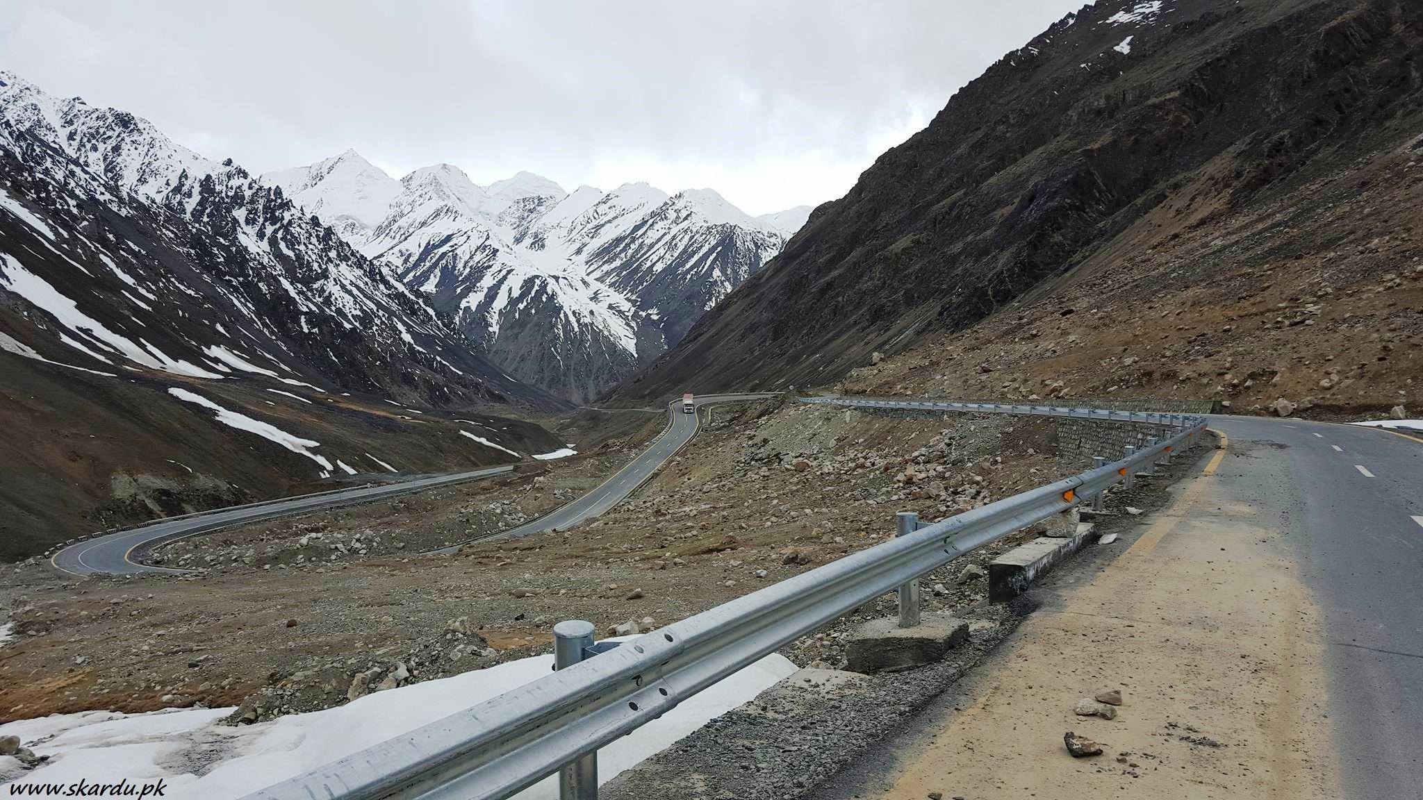 Karakoram Highway Khunjarab