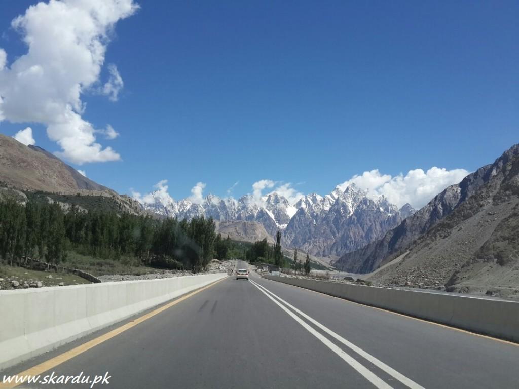 Karakoam Highway Passu Cones