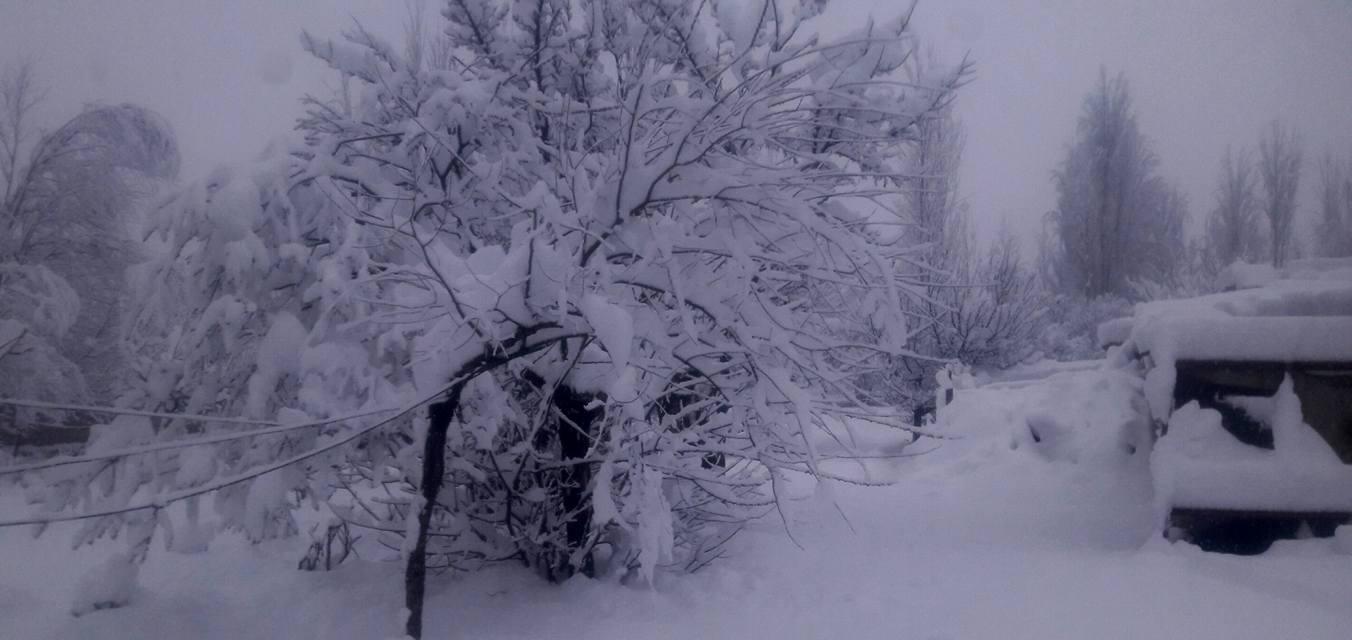 Skardu snow fall