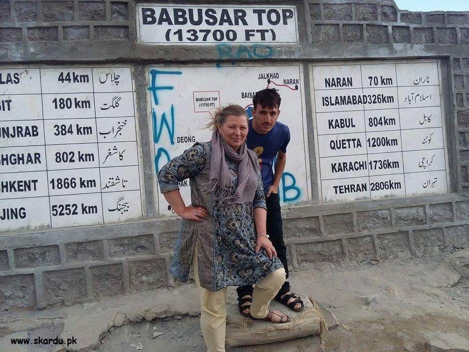 Foreign Tourist in Gilgit Baltistan