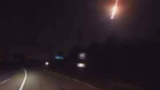 Meteor in Gilgit Baltistan