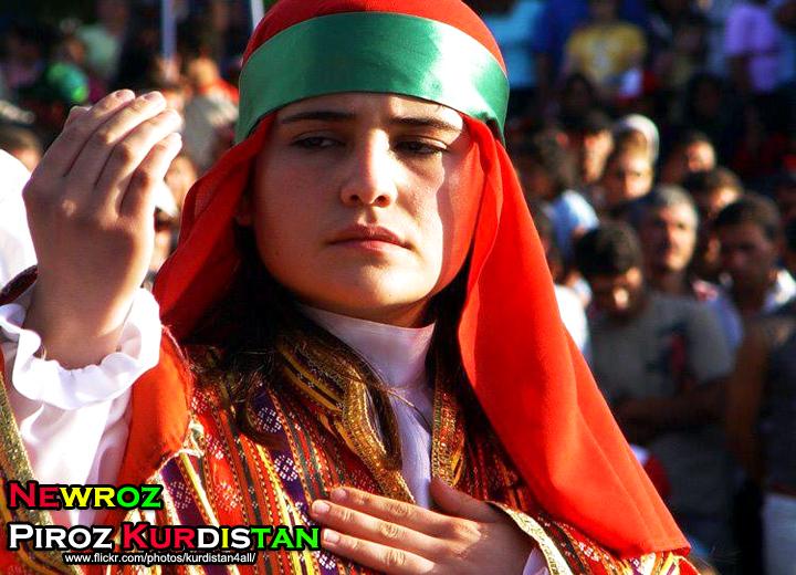Nowruz Kurdish Girl