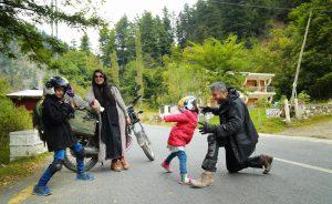 Irfan Younus on Bike Trip
