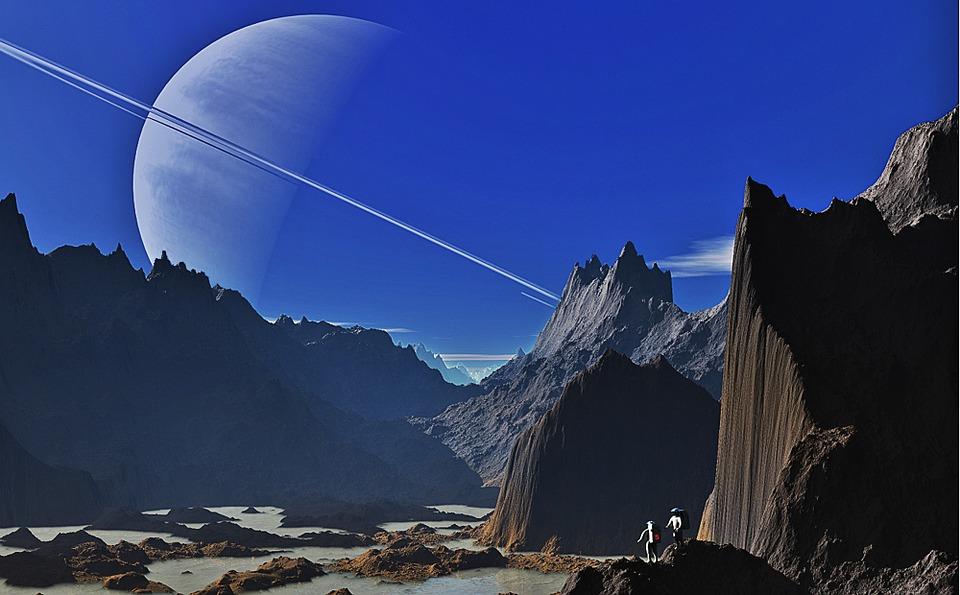 Saturn Azure Color