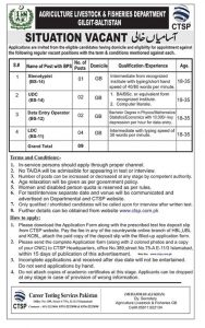 Jobs in Gilgit Baltistan