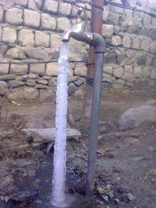 Pipe Freeze Winter Gilgit Baltistan