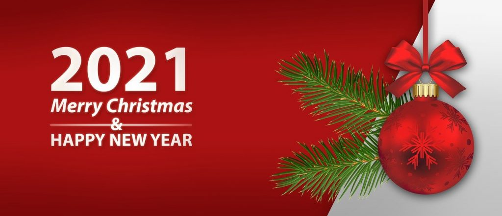 Merry Christmas New Year 2021