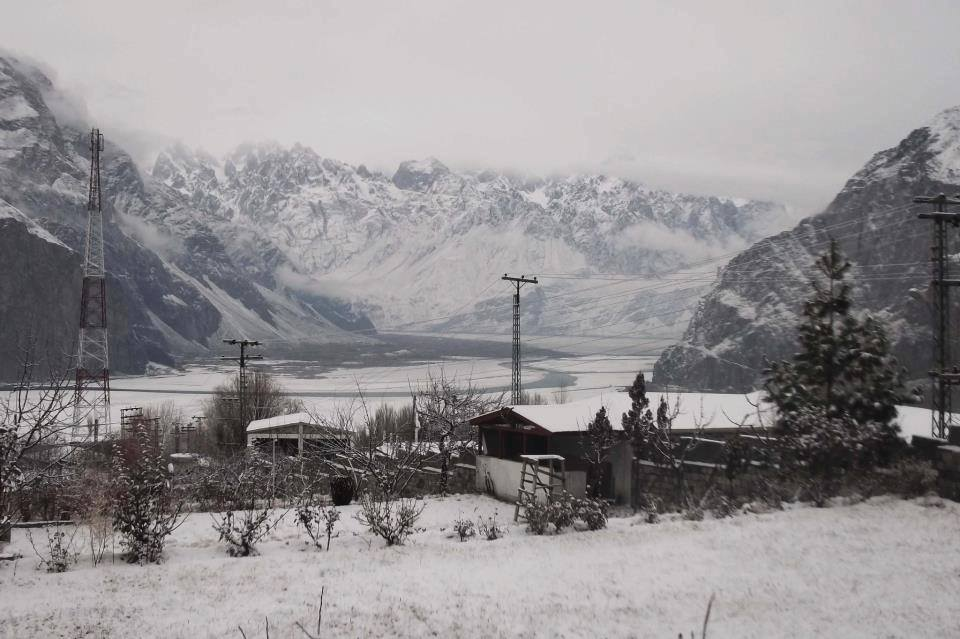 Khaplu in winter