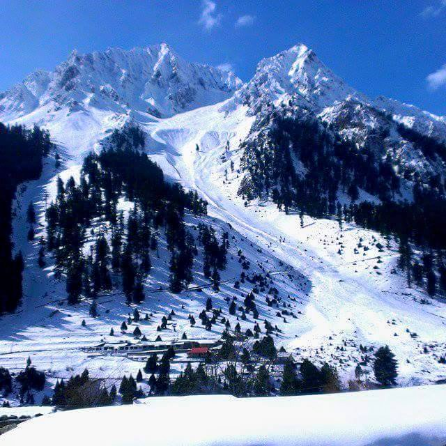 Naltar Valley in Winter