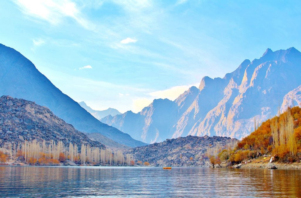 Upper Kachura Lake Skardu Gilgit Baltistan
