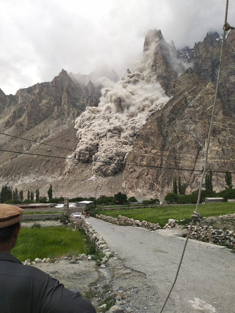 Landslide Gojal Hunza