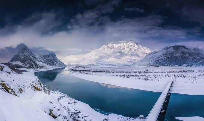 Skardu looked absolutely Magical in Snow