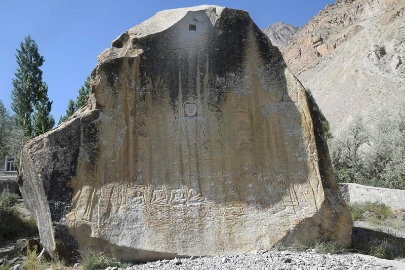 Budha Rock Skardu Script Translated