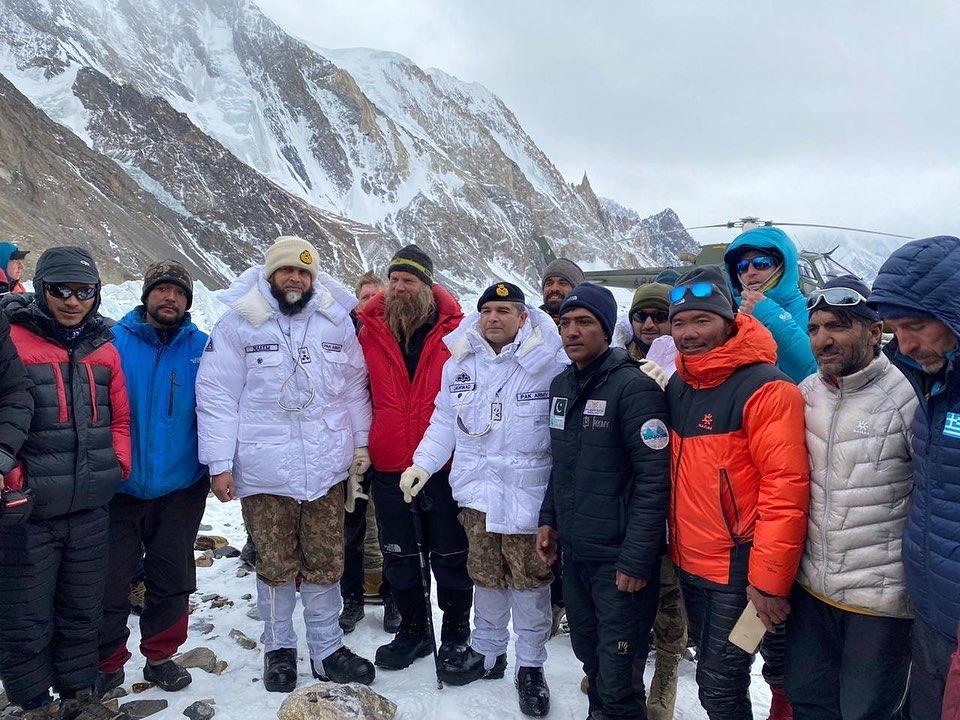 FCNA General visited K2 Basecamp K2 winter