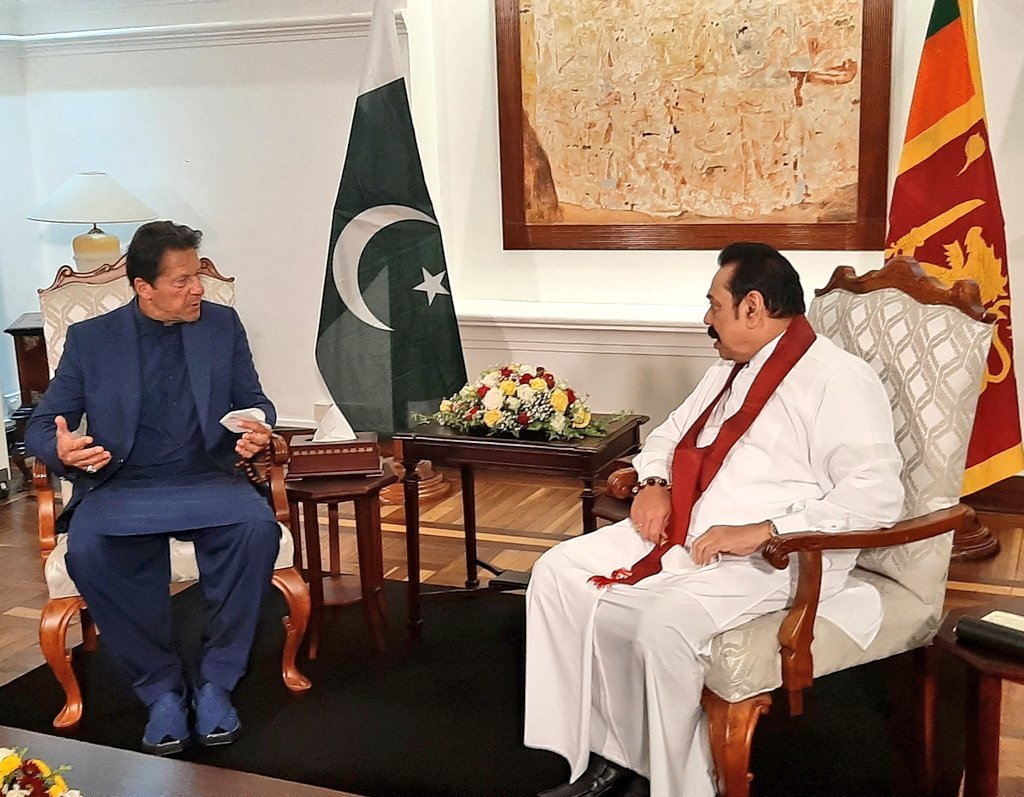 Imran Khan Sri Lanka CPEC