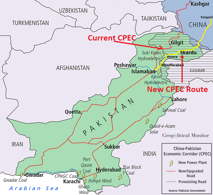 Yarkand Skardu Road alternate CPEC