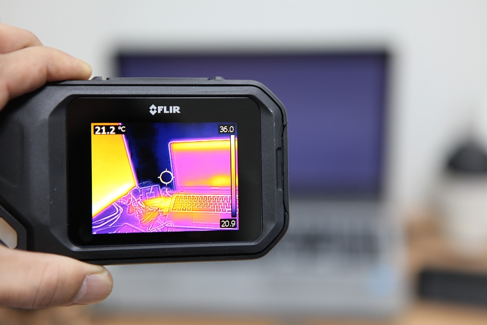 FLIR infrared using at K2 search operation