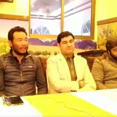 Ali Sadpara Chhang Dawa