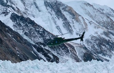 Army helicopter rescue Ali Sadpara