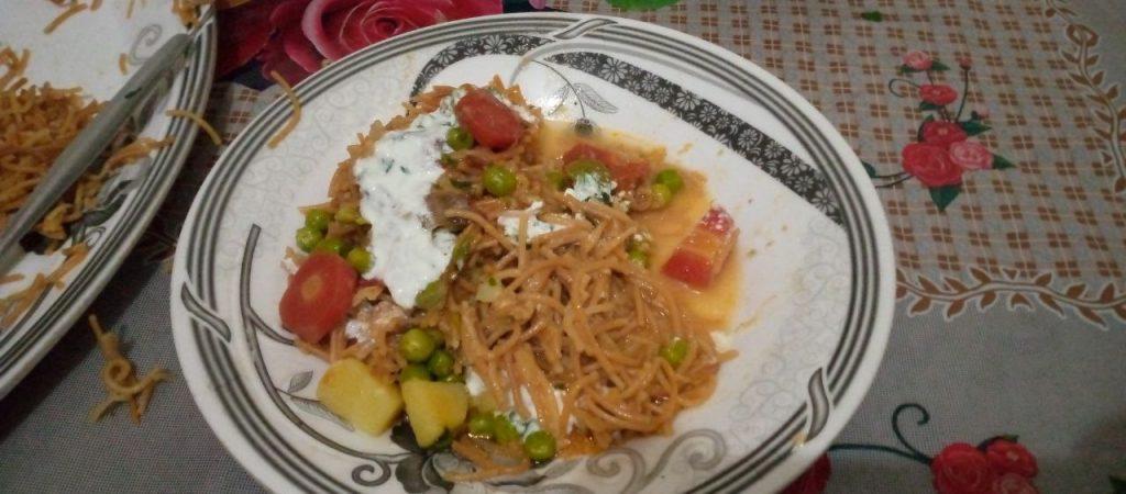 Tras Pa Bali Traditional Dish Baltistan Food