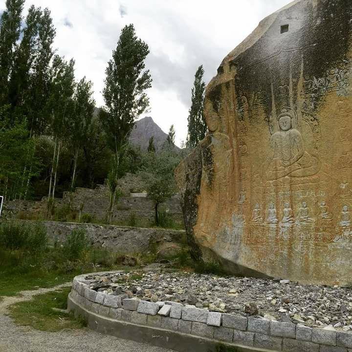 Manthal Budha Rock Skardu perfect place to visit in Skardu GB