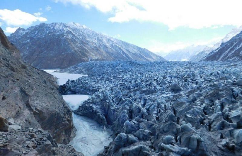 Hunza glacial lake