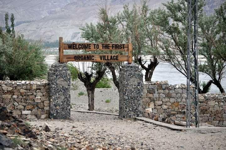 Nansoq organic village