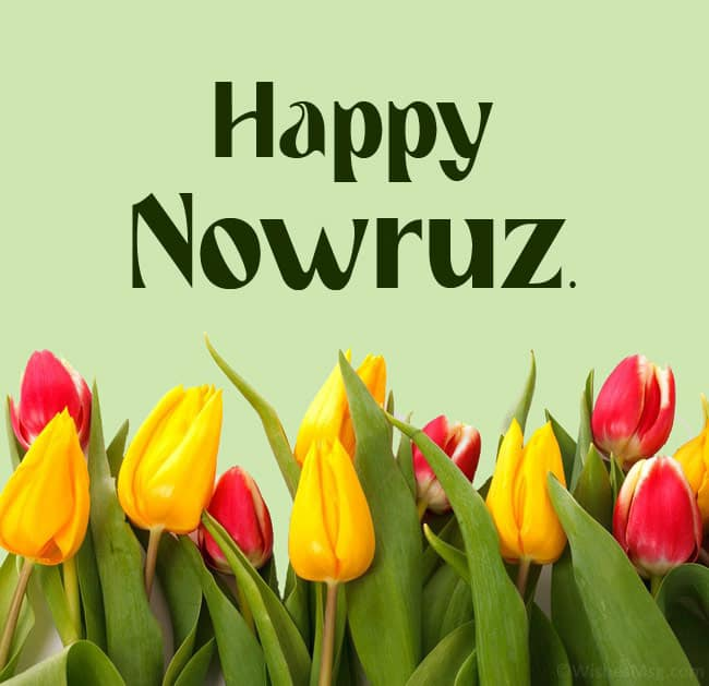 Happy Nowruz Muabark Greetings