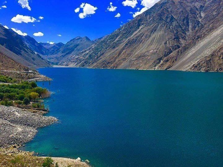 Sadpara lake beautiful place to visit in Skardu