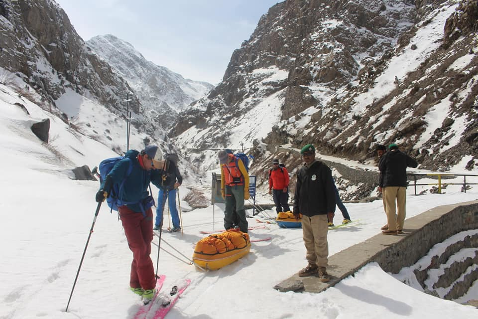 Ski traverse Deosai