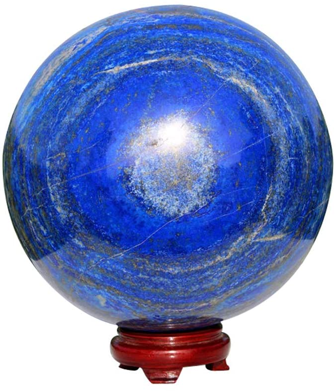 Natural Azure color Blue Precious Stone Lapis Lazuli Crystal Gemstone