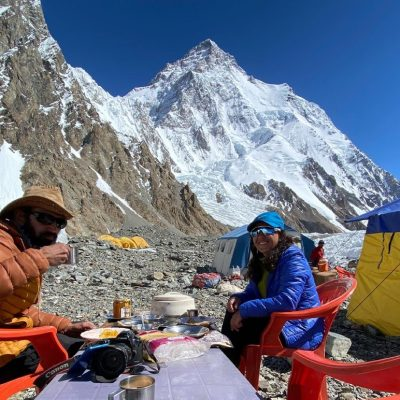 Samina Baig reached K2 Basecamp